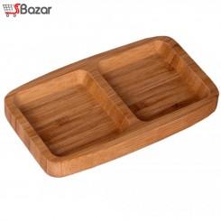 صبحانه خوری دو خانه چوبی