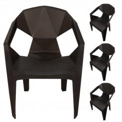 صندلی پلاستیکی طرح الماس