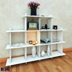 کتابخانه ده خانه چوبی جدا شونده مدل B36