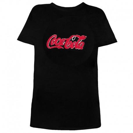 تی شرت زنانه و دخترانه طرح کوکا کولا