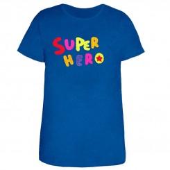 تی شرت زنانه و دخترانه طرح سوپر هیرو