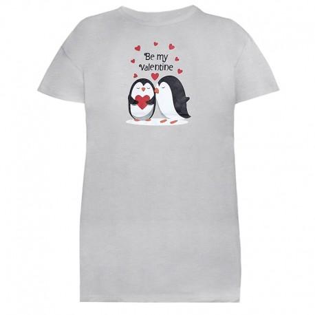 تی شرت زنانه و دخترانه طرح پنگوئن