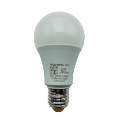 لامپ ال ای دی 12 وات آفتابی نمانور مدل A65 سرپیچ E27