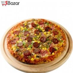 تخته گوشت و پیتزا چوبی