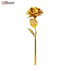 گل رز طرح طلای 24 عیار