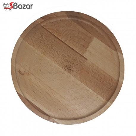 بشقاب چوبی