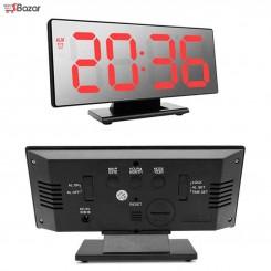 ساعت رومیزی دیجیتالی آینه ای