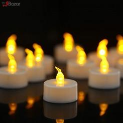 شمع LED طرح وارمر شعله شفاف