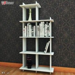 کتابخانه هفت خانه مربع MDF