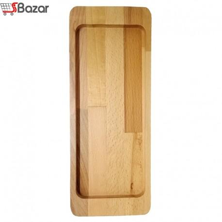 سینی چوبی دسته دار