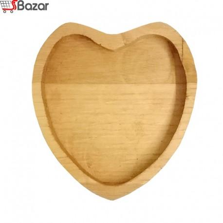 ظرف سرو یک نفره طرح قلب