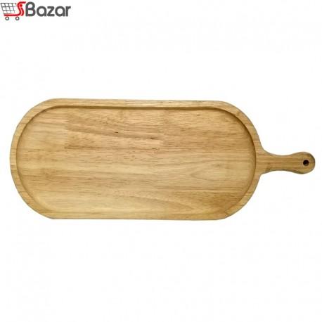 ظرف سرو دسته دار چوبی