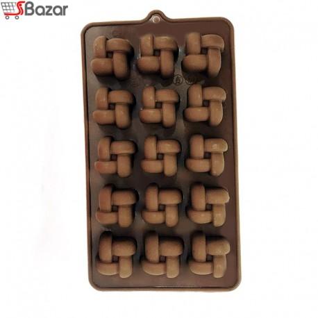 قالب شکلات سیلیکونی طرح بافت